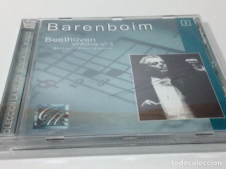 CD BARENBOIN BEETHOVEN SINFONÍA 3 (Música - CD's Jazz, Blues, Soul y Gospel)