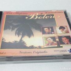 CDs de Música: CD LOS MEJORES BOLEROS Y CANCIONES. Lote 200871936