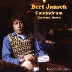 CD de Música: BERT JANSCH - CONUDRUM THIRTEEN DOWN - (CD NUEVO). Lote 200911240
