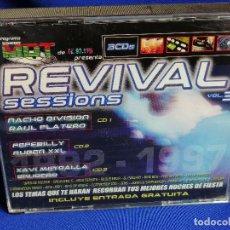 CDs de Música: REVIVAL SESSIONS- 3 CDS. Lote 201170727