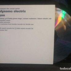 CDs de Música: DYNAMO ELECTRIX - YOU CD MAXI 4 TRACK 1999 KUMBA RECORDS PROMO UK PEPETO. Lote 201170865