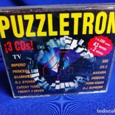 CDs de Música: PUZZLETRON 4- DISCOTECA PUZZLE -RUTA DEL BACALAO. Lote 201171155