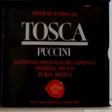CDs de Música: TOSCA 2CD + LIBRETO - PUCCINI. Lote 201175052