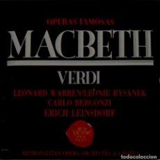 CDs de Música: MACBETH 2CD + LIBRETO - VERDI. Lote 201175055