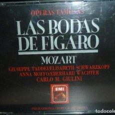 CDs de Música: LAS BODAS DE FIGARO 2CD+LIBRETO - MOZART. Lote 201175057