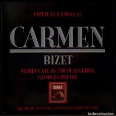 CDs de Música: CARMEN 3CD + LIBRETO - BIZET. Lote 201175060