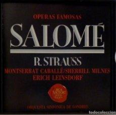CDs de Música: SALOME 2CD + LIBRETO - R. STRAUSS. Lote 201175070
