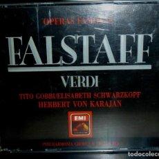 CDs de Música: FALSTAFF 2CD + LIBRETO - VERDI. Lote 201175082
