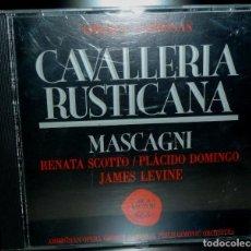 CDs de Música: CAVALLERIA RUSTICANA 1CD+LIBRETO - MASCAGNI. Lote 201175087