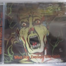 CDs de Música: CD DIRTY LUST WHEN FEAR ENVELOPS YOUR SPIRIT NUEVO PRECINTADO. Lote 201195226