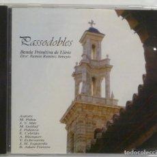CDs de Música: PASSODOBLES BANDA PRIMITIVA DE LLIRIA - VARIOS. Lote 201193452
