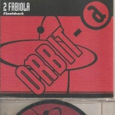 CDs de Musique: 2 FABIOLA - FLASHBACK (FIVE VERSIONS) (CDSINGLE CAJA PROMO, ORBIT RECORDS 1998). Lote 201239130