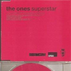 CD de Música: THE ONES - SUPERSTAR (THREE VERSIONS) (CDSINGLE CAJA, VENDETTA RECORDS 2002). Lote 201241221