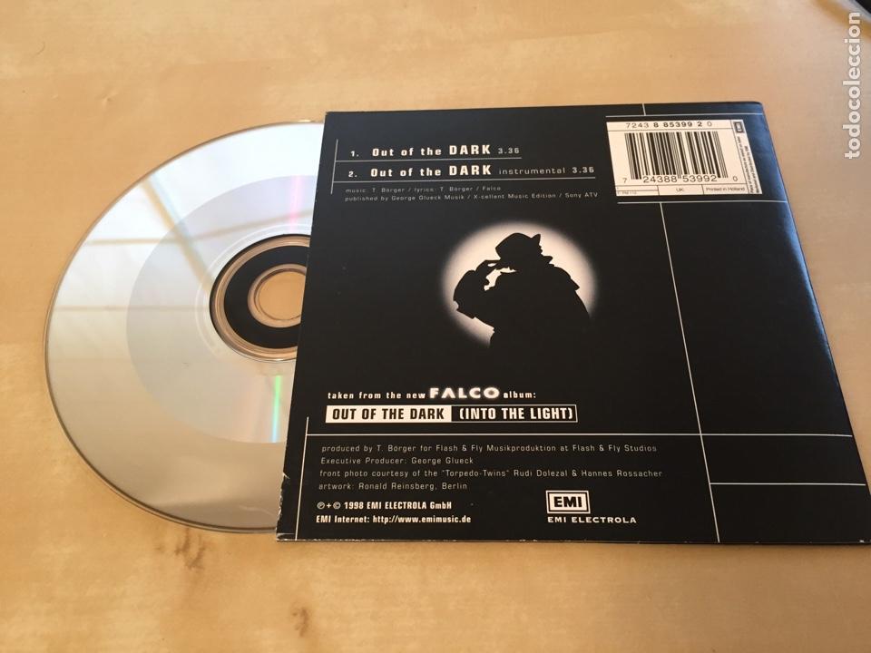 CDs de Música: Falco - Out Of The Dark - CD Single - Foto 2 - 201243553