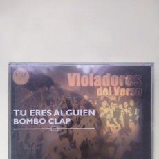 CDs de Música: VIOLADORES DEL VERSO - TU ERES ALGUIEN BOMBO CLAP CD+DVD. Lote 201260713