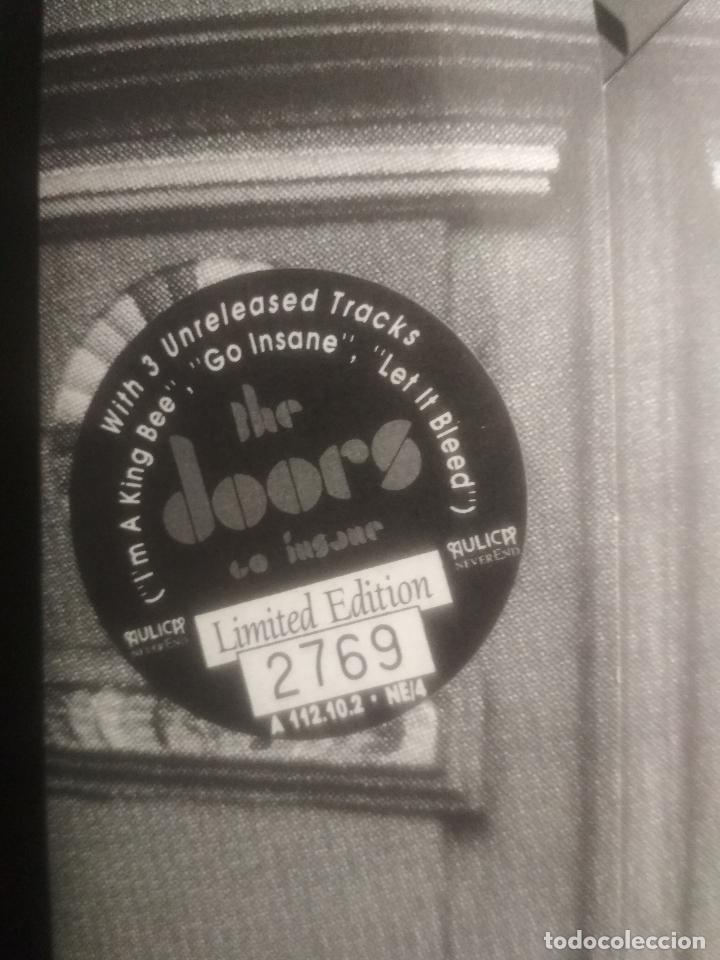 CDs de Música: THE DOORS GO INSANE - VOL 1 & 2. CD/SPCIAL ITALIA 1991 PEPETO TOP - Foto 2 - 201261363