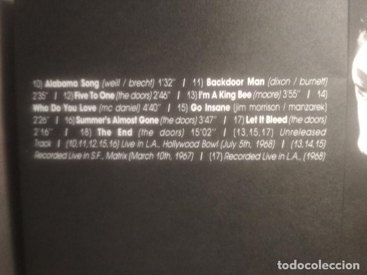 CDs de Música: THE DOORS GO INSANE - VOL 1 & 2. CD/SPCIAL ITALIA 1991 PEPETO TOP - Foto 5 - 201261363
