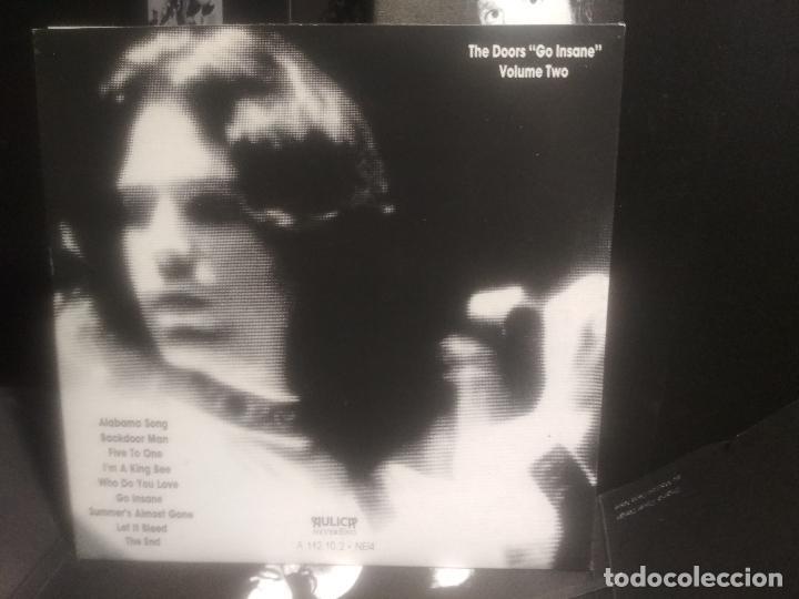 CDs de Música: THE DOORS GO INSANE - VOL 1 & 2. CD/SPCIAL ITALIA 1991 PEPETO TOP - Foto 7 - 201261363