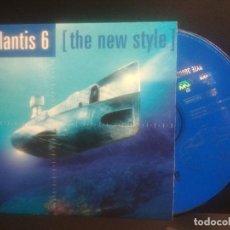 CDs de Música: ATLANTIS 6 THE NEW STYLE CD SINGLE 2 TRACK 1988 BYTE RECORDS PEPETO. Lote 201263473