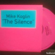 CDs de Música: MIKE KOGLIN THE SILENCE CD SINGLE 1998 MULTIPLY RECORDS PEPETO. Lote 201263900