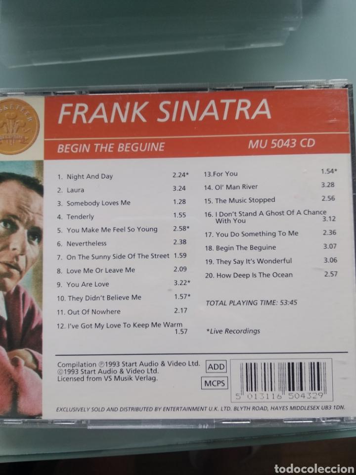 CDs de Música: Frank SInatra - Begin the Beguine - Foto 2 - 201281762
