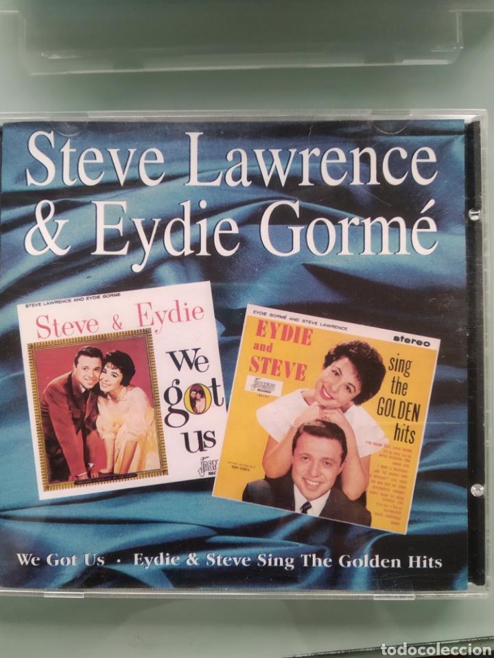 STEVE LAWRENCE & EYDIE GORME – WE GOT US & SING THE GOLDEN HITS (Música - CD's Melódica )