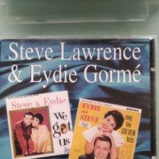 CDs de Música: STEVE LAWRENCE & EYDIE GORME – WE GOT US & SING THE GOLDEN HITS. Lote 201281822