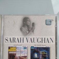 CDs de Música: SARAH VAUGHAN – SNOWBOUND/THE LONELY HOURS. Lote 201282468
