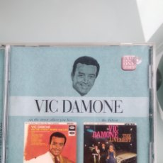CDs de Música: VIC DAMONE – ON THE STREET WHERE YOU LIVE & THE LIVELIEST. Lote 201282907
