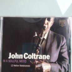 CDs de Música: JOHN COLTRANE – IN A SOULFUL MOOD (RECOPILACIÓN RARA DE COLTRANE). Lote 201284255