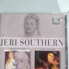 CDs de Música: JERI SOUTHERN ?– ... MEETS COLE PORTER / ... AT THE CRESCENDO. Lote 201284516