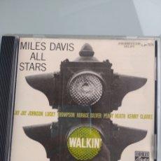 CDs de Música: MILES DAVIS ALL STARS – WALKIN'. Lote 201284812