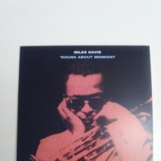 CDs de Música: MILES DAVIS ROUND ABOUT MIDNIGHT ( 1957 DOL 2017 ) FUNDA CARTON REPLICA DISCO ORIGINAL. Lote 277752998