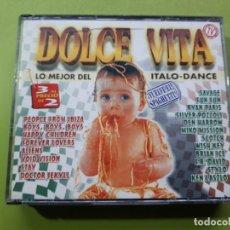 CDs de Musique: DOLCE VITA - LO MEJOR DEL ITALO DANCE - TRIPLE CD - 1997 - FALTA CD 1 - COMPRA MÍNIMA 3 EUROS. Lote 201370530