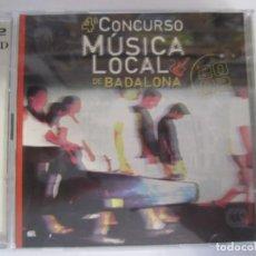 CDs de Música: DOBLE CD 4ºCONCURSO DE MUSICA DE BADALONA 2002 MUTE OFF CRISIS MAZO EL GORDO DE MINESSOTA. Lote 201479058