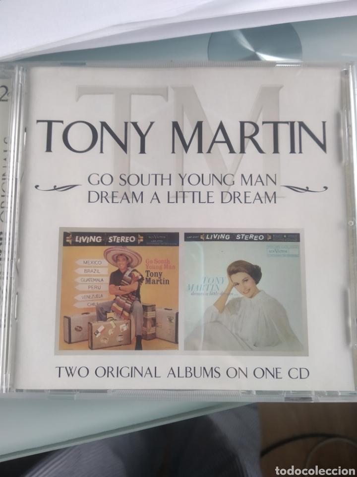 TONY MARTIN – GO SOUTH YOUNG MAN / DREAM A LITTLE DREAM (Música - CD's Melódica )