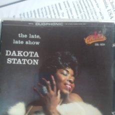 CDs de Música: DAKOTA STATON – THE LATE, LATE SHOW. Lote 201505040