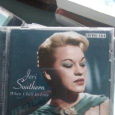 CDs de Música: JERI SOUTHERN – WHEN I FALL IN LOVE. Lote 201506067