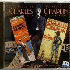 CDs de Música: CHARLES CHAPLIN, THE SILENT MOVIES. Lote 201523232