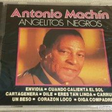 CDs de Música: ANTONIO MACHÍN / ANGELITOS NEGROS / CD / DIVUCSA - 1990 / 14 TEMAS / PRECINTADO.. Lote 201544566