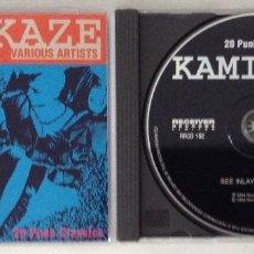 CDs de Música: KAMIKAZE CD 20 ÉXITOS PUNK CLASSIC RECEIVER RECORDS. Lote 201556057