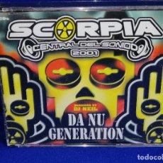 CDs de Música: DISCOTECA SCORPIA CD ( AÑO 2001) SIN ABRIR NUEVO. Lote 201561881