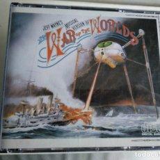 CDs de Música: WAR OF THE WORLDS - 2 CD´S. Lote 201563983
