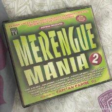 CDs de Música: ALBUM RECOPILATORIO MERENGUEMANIA 2 CD ENVIDIA MERENGUE MANIA GRUPO MAMBO RUBBY PEREZ GRUPOMANIA LP. Lote 201567495