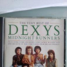 CDs de Musique: DEXYS MIDNIGHT RUNNERS – THE VERY BEST OF DEXYS MIDNIGHT RUNNERS. Lote 201591267