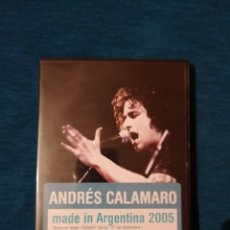 CDs de Música: OFERTA ANDRÉS CALAMARO MADE IN ARGENTINA 2005 DVD+CD. Lote 201601703