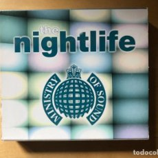 CDs de Música: THE NIGHTLIFE - MINISTRY OF SOUND - DOBLE CD. Lote 201602500