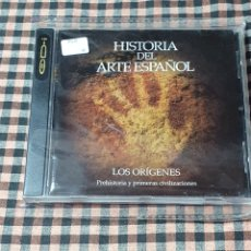 CDs de Música: HISTORIA DEL ARTE ESPAÑOL, LOS ORÍGENES, PREHISTORIA Y PRIMERAS CIVILIZACIONES, COMPACT DISC.. Lote 201638600