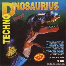 CDs de Música: CD TECHNO DINOSAURIUS CON 2 CDS EN BUEN ESTADO AQUITIENESLOQUEBUSCA ALMERIA. Lote 213682946