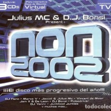 CDs de Música: CD NON 2002 JULIUS MC AND D.J. BONSI CON 3 CDS TEMPO MUSIC PRECINTADO AQUITIENESLOQUEBUSCA ALMERIA. Lote 201662768